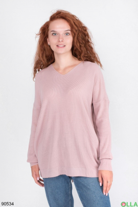 Женский Светло-розовый свитер