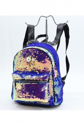Детский рюкзак с пайетками