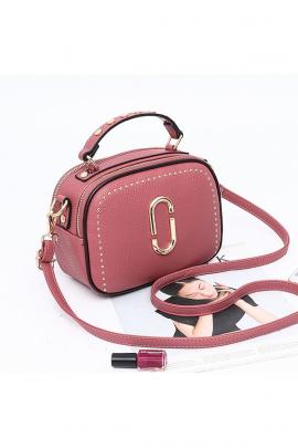 Женский розовый клатч