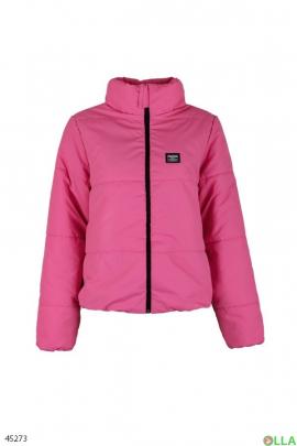 Женская куртка-плащевка