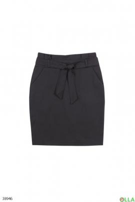Женская юбка прямого кроя