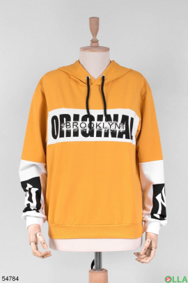 Женский оранжевый спортивный костюм