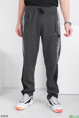 Мужские спортивные брюки с надписями