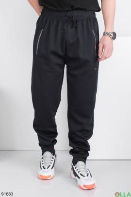 Мужские спортивные темно-синие брюки