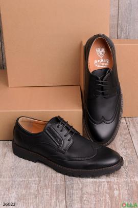 Мужские туфли оксфорды