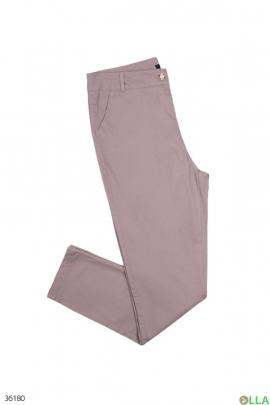 Женские однотонные джинсы
