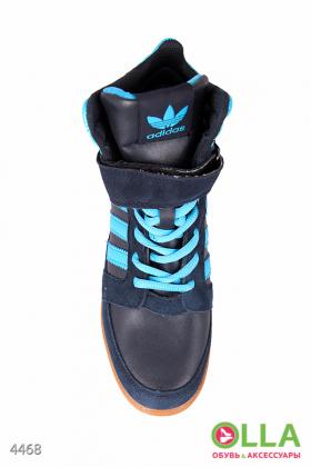 Кроссовки-сникерсы синие