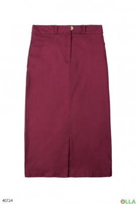 Женская юбка-миди