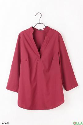 086a2da0ff7 Шорты-юбка бордового цвета цена 219.00 грн. Elfberg 316-3 купить в ...