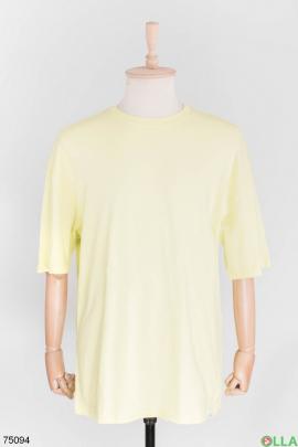 Мужская салатовая футболка