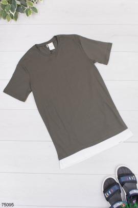 Мужская темно-серая футболка