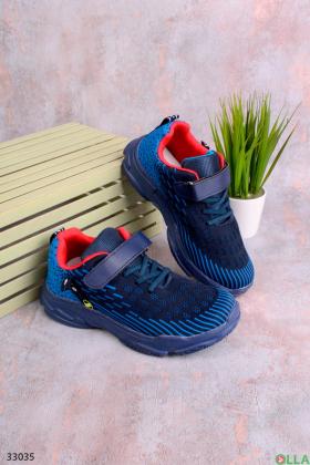 Синие кроссовки