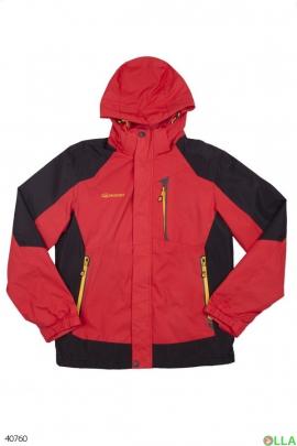 Мужская двухцветная куртка
