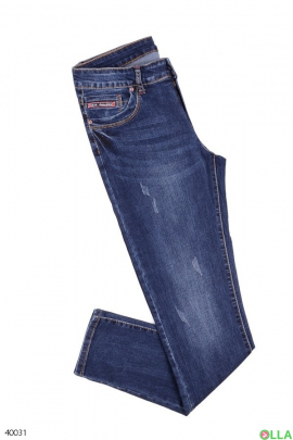 Женские повседневные джинсы