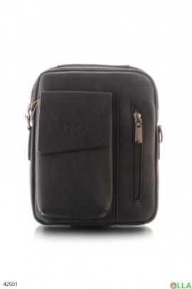 Мужская черная сумка