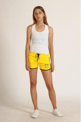 Жеснкие жёлтые шорты
