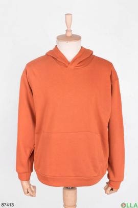 Мужской оранжевый спортивный костюм