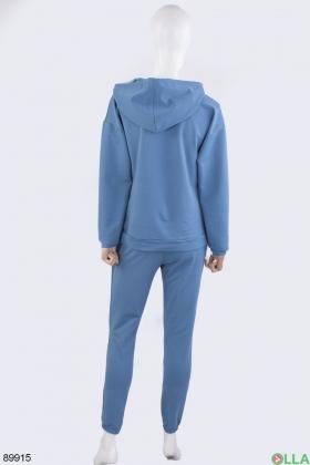 Женский синий спортивный костюм
