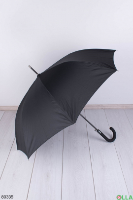 Мужской черный зонт