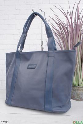 Женская темно-синяя сумка