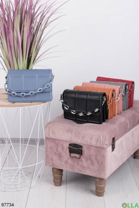 Женская синяя сумка