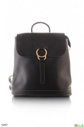 Женский  рюкзак с кольцом