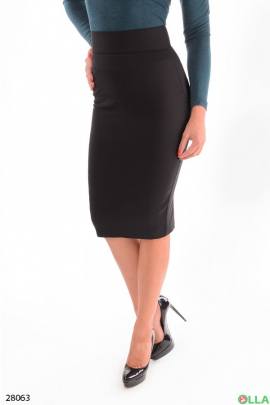 Женская юбка-миди с высокой талией