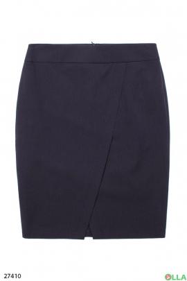 Женская юбка темно-синего цвета