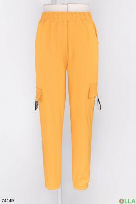 Женские спортивные брюки с карманами