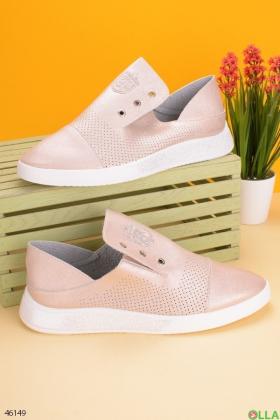 Женские туфли на низком ходу - 00-00189652