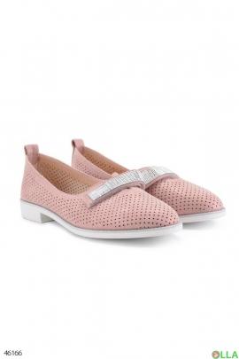 Женские туфли на липучке