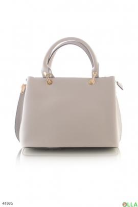 Женская белая сумка