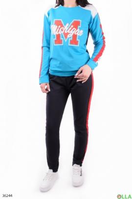 Женский спортивный костюм с надписью