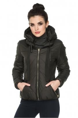 Демисезонная женская короткая куртка