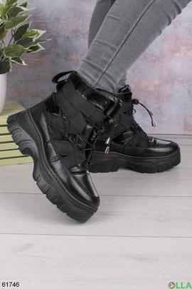 Женские зимние ботинки-дутыши