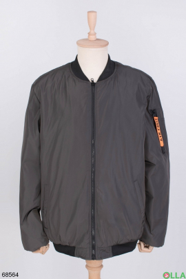 Мужская темно-серая куртка