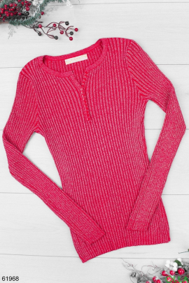 Женский Красный свитер