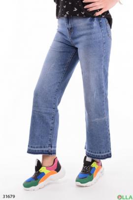 Женские джинсы-клеш