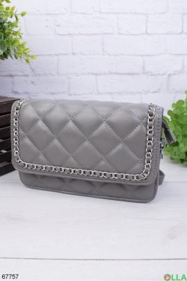 Женская сумка с цепью