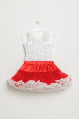 Комплект из майки и юбки для девочки