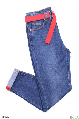 Женские джинсы с манжетами