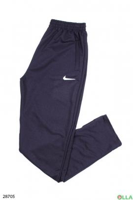 Спортиные штаны синего цвета