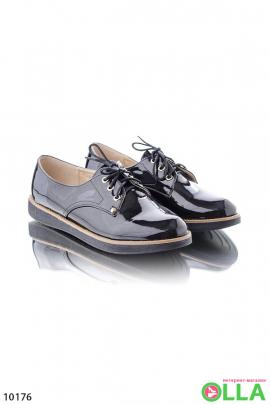 Туфли-оксфорды на шнуровке