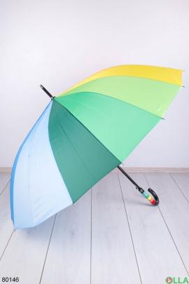 Женский разноцветный зонт