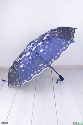 Женский темно-фиолетовый зонт