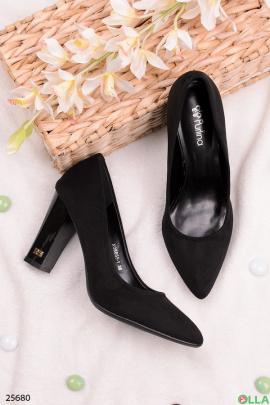 Элегантные туфли черного цвета