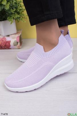 Женские лиловые кроссовки