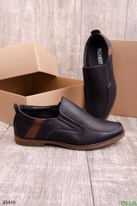 Черные туфли без застежки
