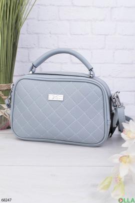 Женская блакитна сумка