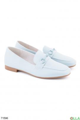 Женские бирюзовые туфли